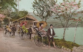 日本人の発明?人力車の歴史 Japanes